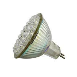 MR16 White 48 LED Light Bulb 2.4W