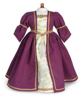 Medieval Dress and Shoes Fits 18 American Girl Dolls Toys & Games