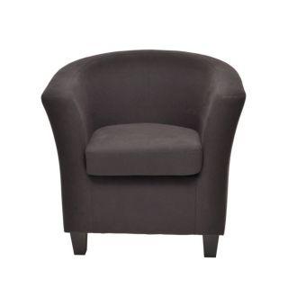 100% coton coloris noir   Achat / Vente FAUTEUIL Fauteuil JOHN 100