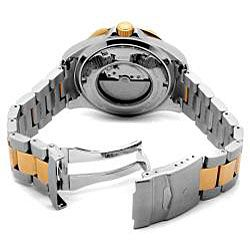 Invicta Mens Grand Diver Pro Automatic Two tone Stainless Steel Watch