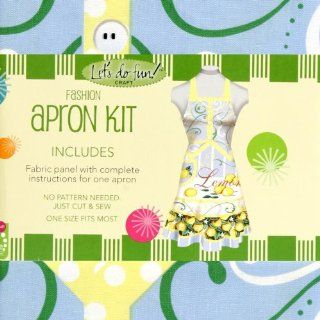 Springs Creative Sunny Fashion Apron Kit Fabric By The
