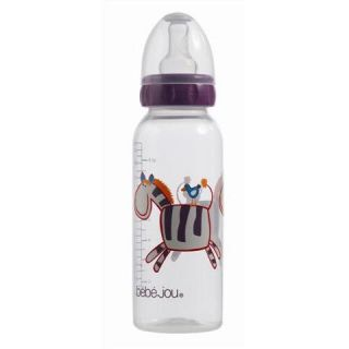 Bebe jou Biberon 250 ml Ziggy Zebra pourpre   Achat / Vente BIBERON