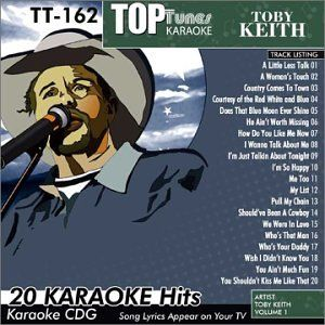 Tunes Karaoke Toby Keith, TT 162 Vol. 26 Top Tunes Karaoke Music