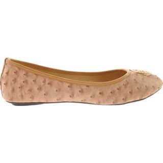 Womens Vecceli Italy BF 102 Beige Ostrich Compressed Leather