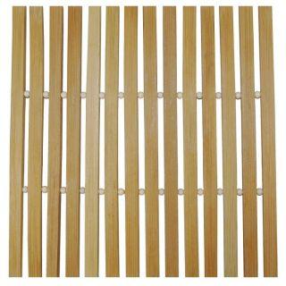 Dessous de Plat Cuisine 100% Bambou Naturel Deco Zen   Dimension : 20