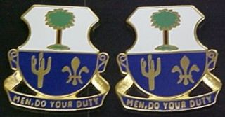 163rd Infantry Distinctive Unit Insignia   Pair Clothing