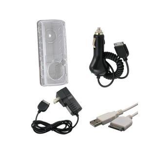 Eforcity Case USB Cable Car Travel Charger for SanDisk Sansa View