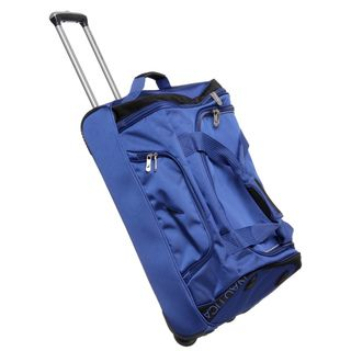Nautica Charter 24 inch Wheeled Upright Duffel Bag