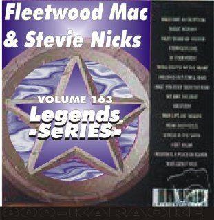 Nicks Fleetwood Mac 15 Song Karaoke CD+G Legends #163 Legends Music