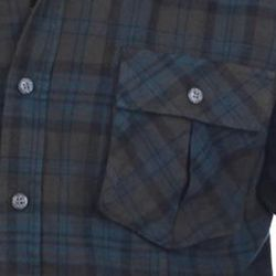 191 Unlimited Mens Cotton Flannel Plaid Shirt