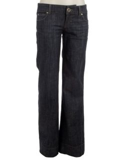 Level 99 Womens Oasis Wide Leg Cuffed Jeans