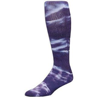 Purple Large Tyed Dye (Tye Dyed) Knee High Socks for all