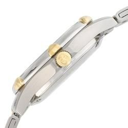 Wenger Womens Standard Issue Two tone 18k Gold Swiss Date Watch