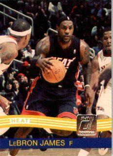 2010 / 2011 Donruss # 165 LeBron James Miami Heat NBA