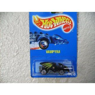 Hot Wheels Vampyra 1992 #166 All Blue Card Black W/tampos W/ultra Hot