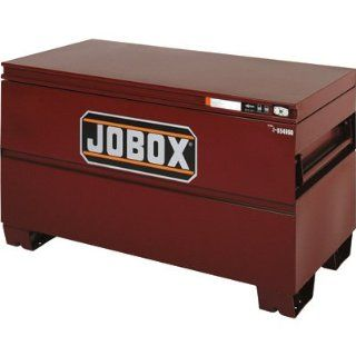 Jobox 48in. Heavy Duty Steel Chest   Site Vault Security System, 15.4