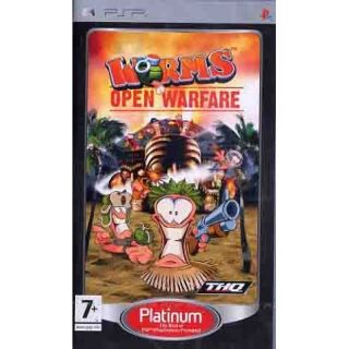 WORMS OPEN WARFARE / JEU PSP Platinum   Achat / Vente PSP WORMS OPEN