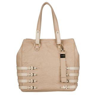 Jimmy Choo Babeth Pink Leather Tote Bag