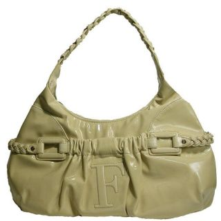 Gianfranco Ferre 67TXDBLA Leather Hobo Bag