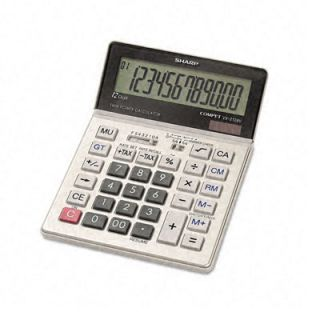 Sharp VX2128V Portable Desktop Handheld Calculator Today $49.99