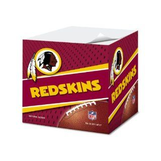 Washington Redskins 2.75 Inch Sticky Note Cube, 550 pages
