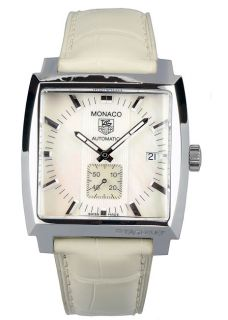 Tag Heuer Monaco Mens Mother of Pearl Dial Watch