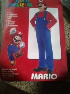 Super Mario Bros. Halloween Costume Boys Kids Size Xl (14