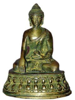 Meditation Buddha Statue Collectibles and Figurines Brass