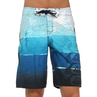 Modèle Alpha. Coloris  bleu et marine. Short de bain QUIKSILVER