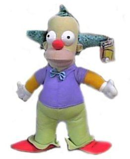 The Simpsons 14 Krusty the Clown Plush Doll Toys & Games