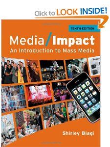Media Impact An Introduction to Mass Media (Wadsworth Series in Mass