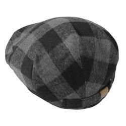 Boston Traveler Mens Plaid Ivy Flap Cap