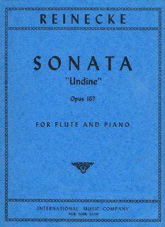 Sonata Undine Opus 167 for Flute and Piano Carl Reinecke