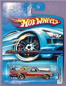 2006 HOT Wheels #172 69 El Camino in Primer Gray Grey 1