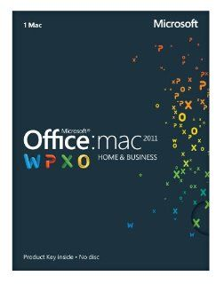 Office Mac 2011 Home and Business 2011   1PC/1User
