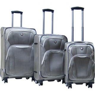 CalPak Dawson 3 Piece Exp. Luggage Set (Khaki) Clothing
