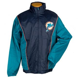 G3 Mens Miami Dolphins Light Weight Jacket