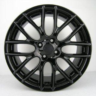 17 MINI Cooper S Clubman JCW R112 Style Gloss Black Challenge Rim