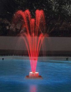 LED Lighted Swimming Pool Fountain Patio, Lawn & Garden