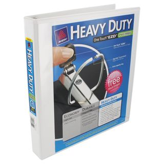 Avery Heavy Duty One Touch EZD 1 inch White View Binder