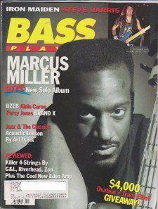 Bass Player Magazine (October 1992) (Marcus Miller + Alain Caron