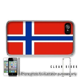 Norway Norwegian Flag Apple iPhone 4 4S Case Cover Skin