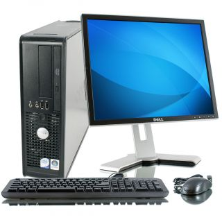 Dell Optiplex 745 1.6GHz 80GB Desktop Computer with 17 inch Dell LCD