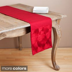 Embroidered Scroll Design Table Runner Today $45.99