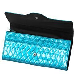 Collection Womens Veronica Diamond Quilt Clutch