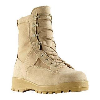 Mens Wellco Insulated Waterproof Steel Toe Combat Boot 600G Tan