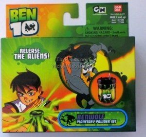 Ben 10 Planetary Powder Figure Toys & Games