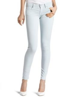 7 For All Mankind Womens Foil Floral Skinny Jean in Light