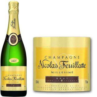 Nicolas Feuillatte   Champagne Brut Millésimé   Millésime 2005