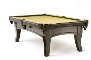 Solid Hardwood Full Slate Pool Table